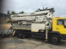 used Sermac concrete pump truck