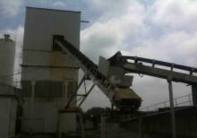 used Pemat concrete plant