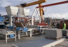 used Ilmar production units for concrete products
