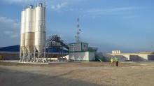 new Arcen concrete plant