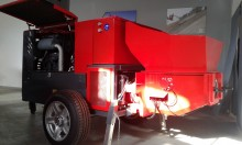 new Arnabat concrete pump truck