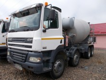 used DAF concrete mixer truck