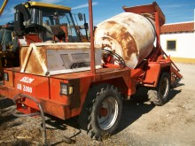 used Silla concrete mixer