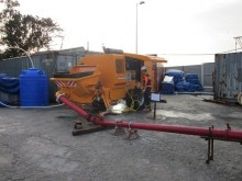 used Sumab screed pump