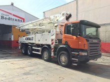 new Scania concrete pump truck