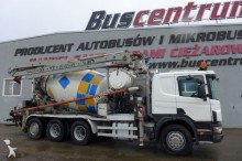 used Scania concrete pump truck