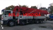used MAN concrete pump truck