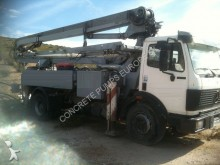 Mercedes concrete pump truck