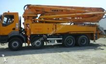 used Renault concrete pump truck