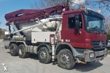 used concrete mixer + pump truck