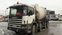 used Scania concrete mixer
