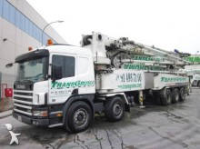 used Junjin concrete pump truck