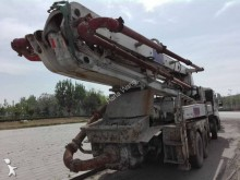 used Sany concrete mixer + pump truck