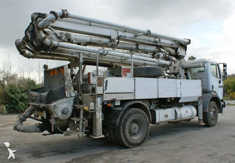 Used schwing stetter concrete pump truck bpl 900 n a n 1259946 - Pompe a teton ...