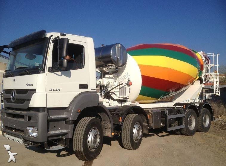 B ton mercedes malaxeur toupie 12 m3 mercedes axor 4140 neuf n 1491974 - Prix m3 beton fait main ...