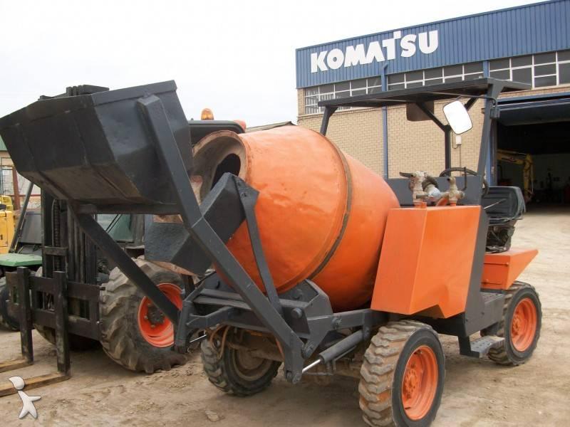 betoniera rotore / Mescolatore Imer MZ-750-HT usata - n°255023 - Foto ...