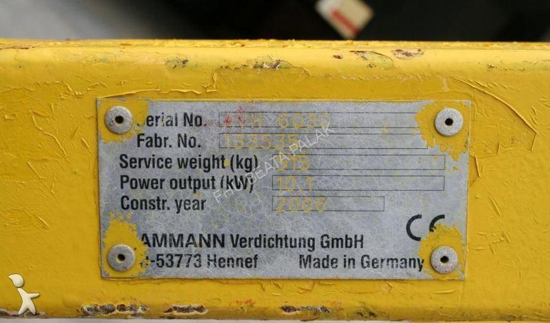 ammann инструкция