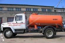new GAZ vacuum truck