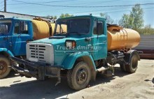 used ZIL road sweeper