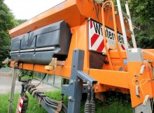 used Schmidt snow plough-salt spreader