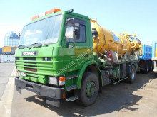 used Scania sewer cleaner truck