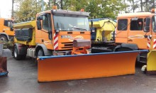 used Iveco snow plough-salt spreader