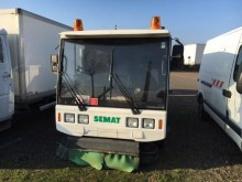 used Semat road sweeper