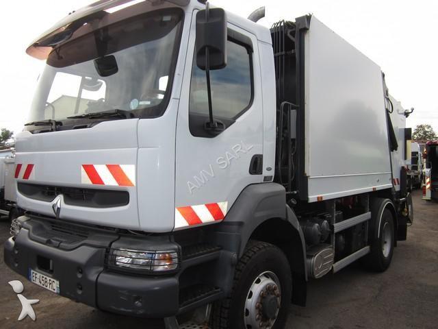 Photos engin de voirie renault camion benne ordures for Location benne a ordure