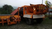 used Unimog snow plough