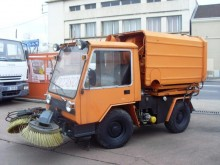 used Kramer road sweeper