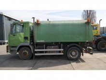 damaged DAF road sweeper