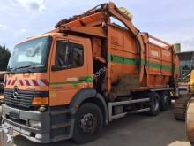 camión volquete para residuos domésticos nc