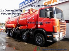 Scania sewer cleaner truck