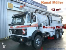used Mercedes sewer cleaner truck