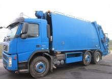 camion raccolta rifiuti Volvo usato