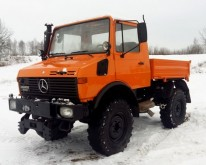 used Mercedes gritting truck