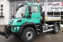 new Mercedes snow plough-salt spreader