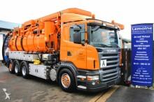 Scania R420 Kroll 18m³ Saug u. Spülkombi+FUNK