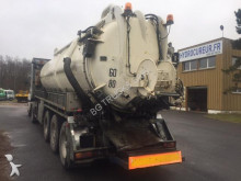 Demico sewer cleaner semi-trailer
