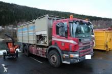 camión aspirador Scania