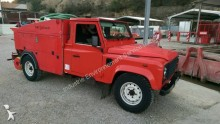 used Land Rover sewer cleaner truck