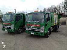 used Isuzu waste collection truck