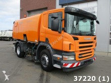 used Scania road sweeper