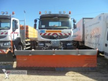used Renault snow plough-salt spreader