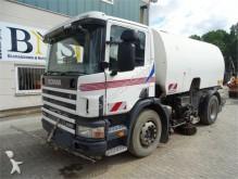 used Scania road sweeper