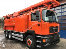 used MAN sewer cleaner truck