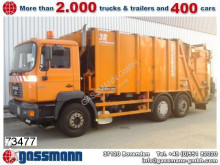 used MAN waste collection truck