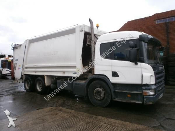 Camion benne ordures m nag res occasion scania nc p270 for Location benne a ordure