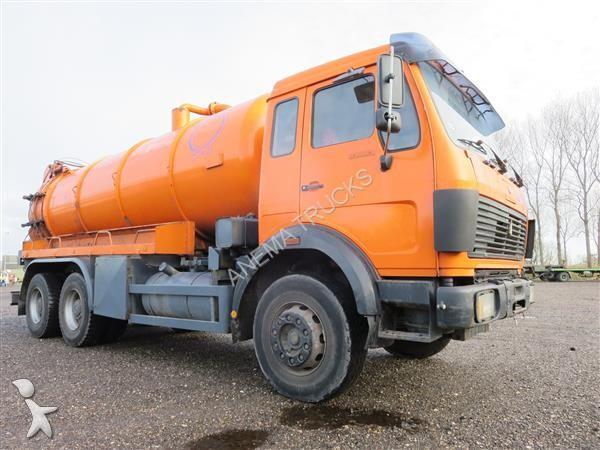 camion hydrocureur mercedes 2636 6x4 gazoil occasion n 1538004. Black Bedroom Furniture Sets. Home Design Ideas