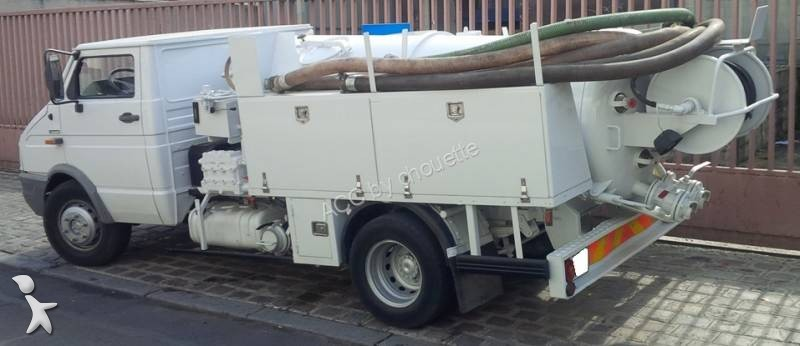 camion hydrocureur fiat gazoil euro 1 occasion n 1788771. Black Bedroom Furniture Sets. Home Design Ideas